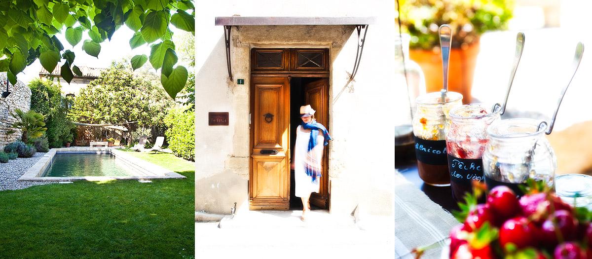 Chambre d 39 hotes de charme en provence avignon bed and for Chambre d hote de charme avignon